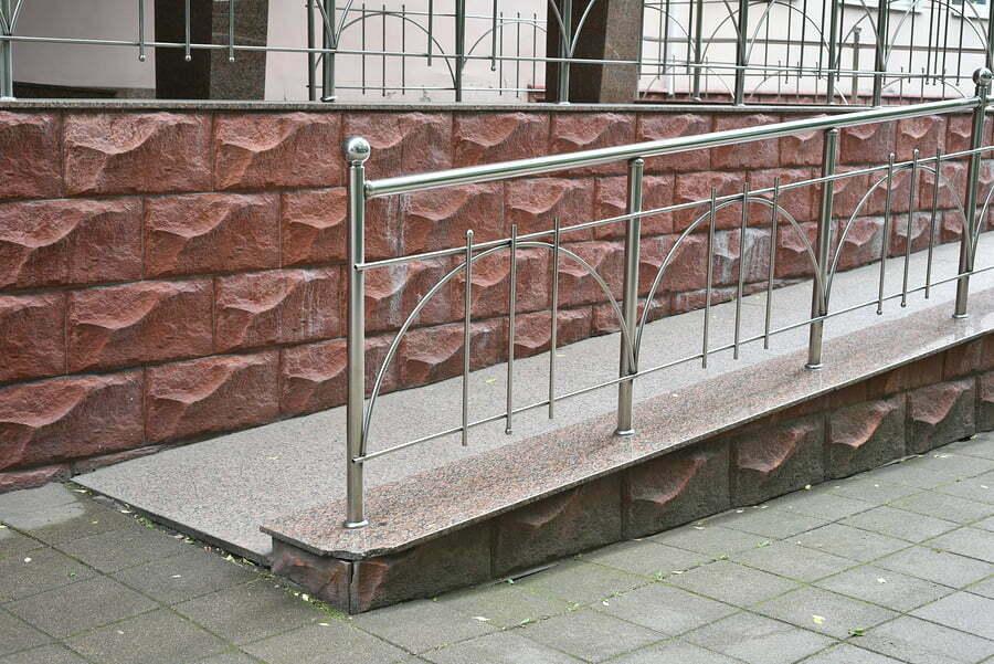 professional concrete handicap ramp service